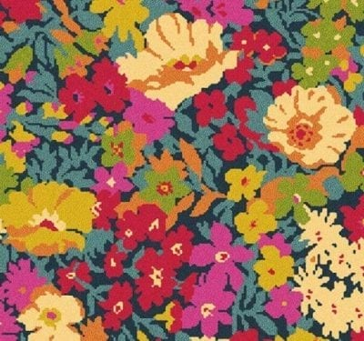 Liberty Fabrics Flowers of Thorpe Summer Garden Carpet 5