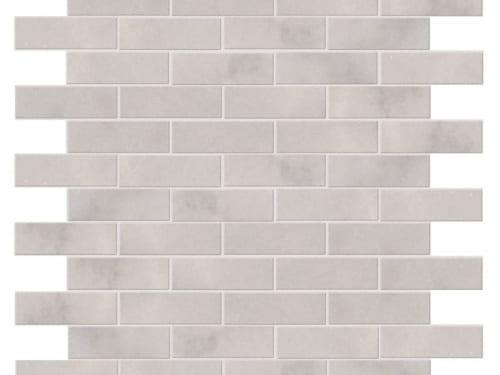PA – Le Bouscat Island Marble Honed White Slim Brick 10