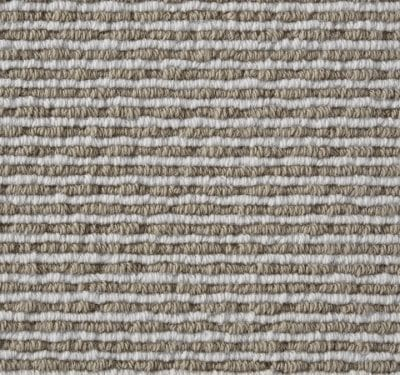 Natural Loop Boucle Coffee & Cream Carpet 12