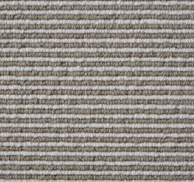 Natural Loop Cable Coffee & Cream Carpet 13
