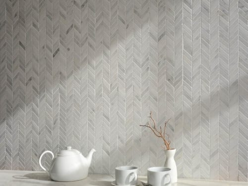 New Ravenna Chevron White 9