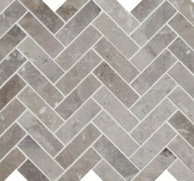 PA – Poitiers Marble Honed Herringbone 1