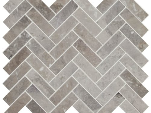 PA – Poitiers Marble Honed Herringbone 3
