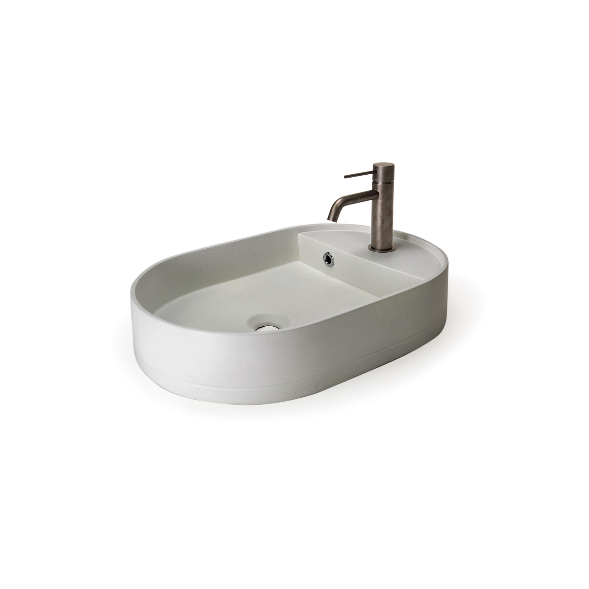 Shelf Oval Basin 13