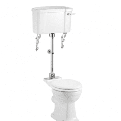 Regal medium WC with 440 lever cistern 5
