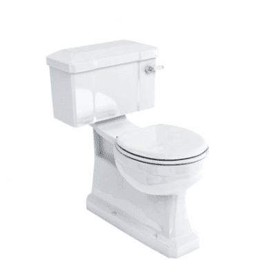 S trap cc WC with 250 rear entry lever cistern 8