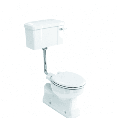 S trap low level WC with 520 lever cistern 9