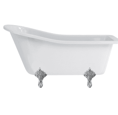 Harewood slipper bath with standard feet 1