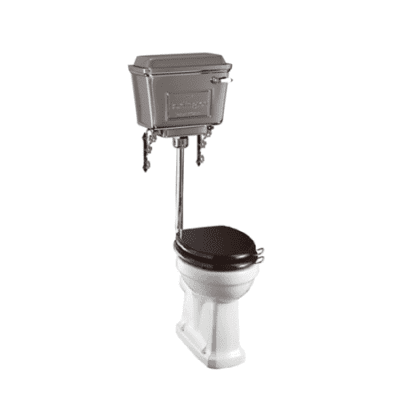 Standard low-level WC with 440 chrome cistern 8