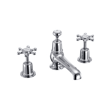 Birkenhead basin mixer with plug and chain 8
