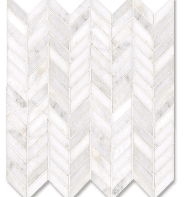 New Ravenna White Chevron 10