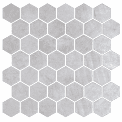 Hexagonal Zelik Grey 3
