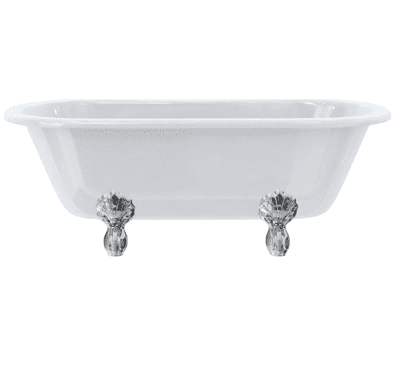 Windsor double ended bath with luxury feet 10