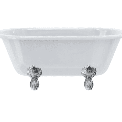 Windsor double ended bath with luxury feet 8