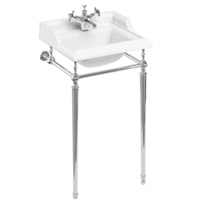 Classic basin 50cm and basin with stand chrome 11