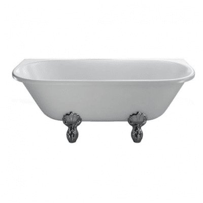 Avantgarde back to wall 1700 traditional bath with feet 5