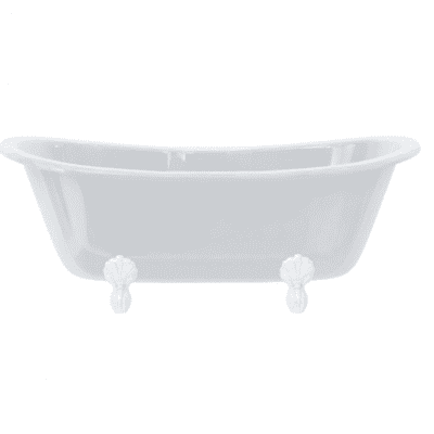 Bateau double ended bath 3