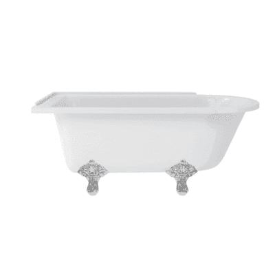 Hampton  left-handed showering bath 10