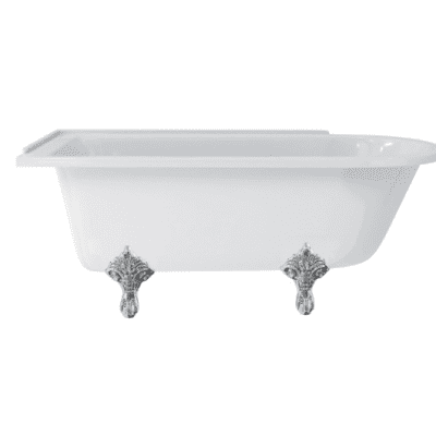 Hampton 170 cm left-handed showering bath 4