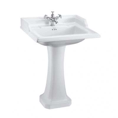 Classic 65cm basin with classic pedestal 12