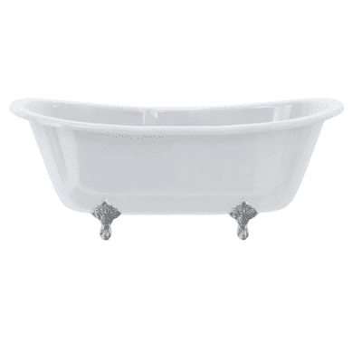 Bateau double ended bath 9