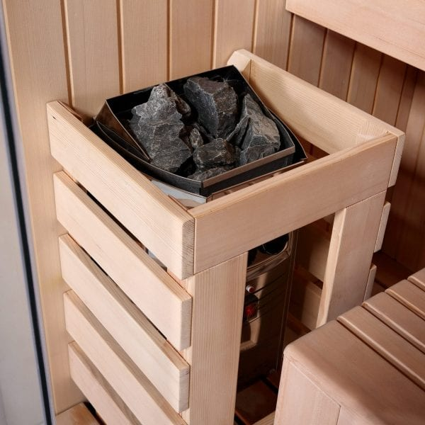 Black Pearl 1 person Sauna (115cm) 3