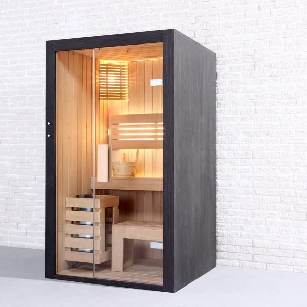 Black Pearl 1 person Sauna (115cm) 1