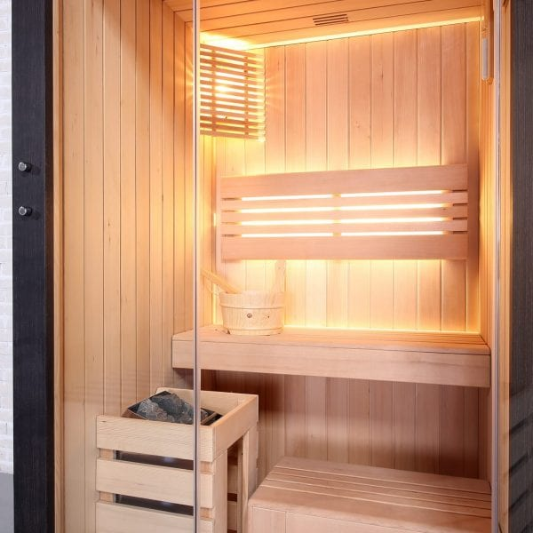 Black Pearl 1 person Sauna (115cm) 2
