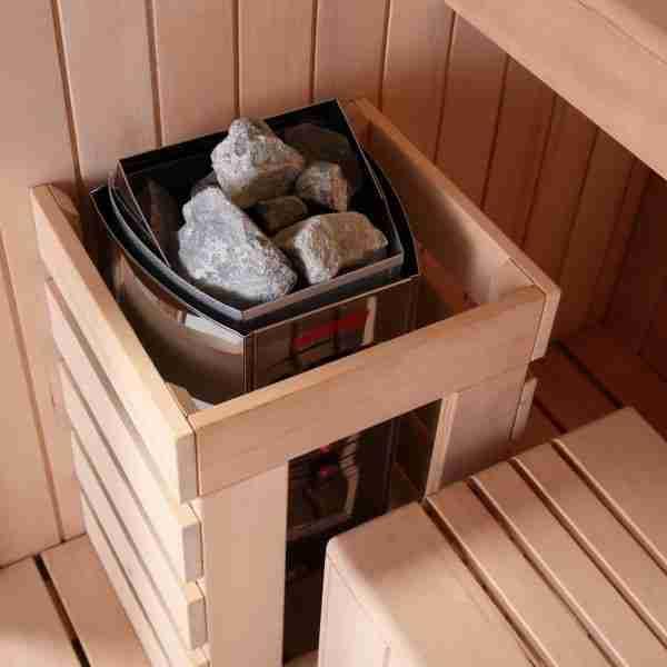 Black Pearl Sauna 2 person (140cm) 3