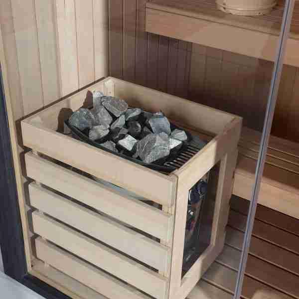 Black Pearl 3 Person Sauna (160cm) 4