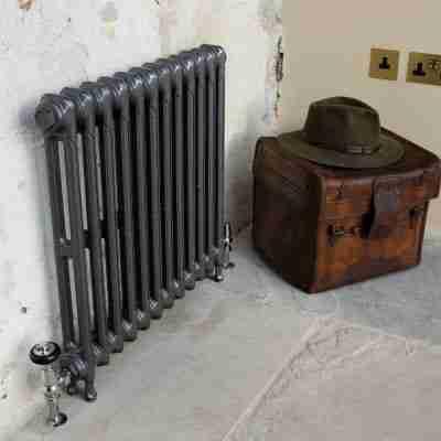 Victorian 2 Column Cast Iron Radiator 7