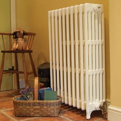 Victorian 6 Column Cast Iron Radiators 7