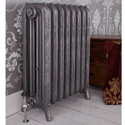 Ribbon 4 Column Cast Iron Radiator 11