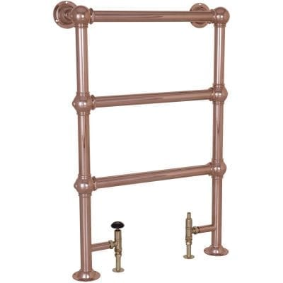 Colossus Steel Towel Rail Copper - 1000mm x 650mm 9