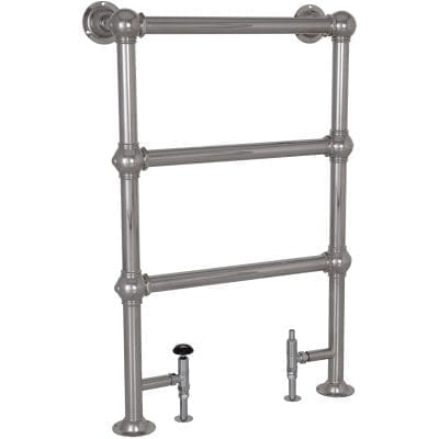 Colossus Steel Towel Rail Chrome - 1000mm x 650mm 3