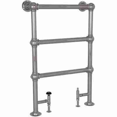Colossus Steel Towel Rail Chrome - 1000mm x 650mm 2