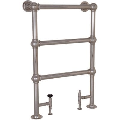 Colossus Steel Towel Rail Nickel - 1000mm x 650mm 10