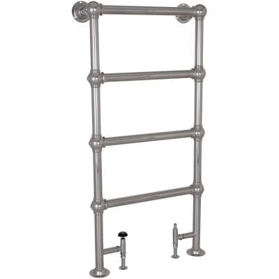 Colossus Steel Towel Rail Chrome - 1300mm x 650mm 10
