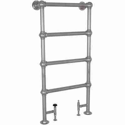 Colossus Steel Towel Rail Chrome - 1300mm x 650mm 5