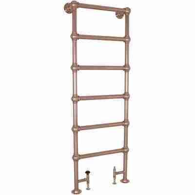 Colossus Steel Towel Rail Copper - 1800mm x 650mm 12