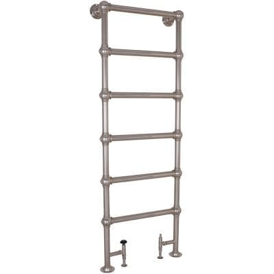 Colossus Steel Towel Rail Nickel - 1800mm x 650mm 7
