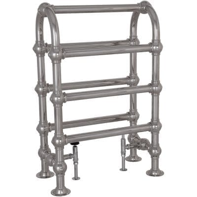 Colossus Horse Steel Towel Rail - 935mm x 625mm (Chrome Finish) 1