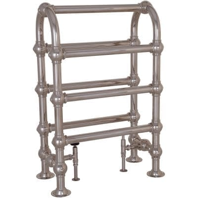 Colossus Horse Steel Towel Rail - 935mm x 625mm (Nickel Finish) 2