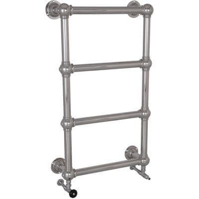 Colossus Steel Wall Mounted Towel Rail Chrome - 1000mm x 600mm 3