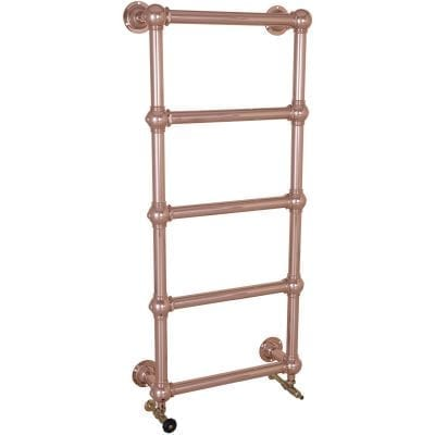 Colossus Steel Wall Mounted Towel Rail Copper - 1300mm x 600mm 2