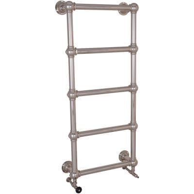 Colossus Steel Wall Mounted Towel Rail Nickel - 1300mm x 600mm 8