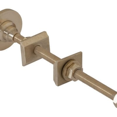 Solid Brass 200mm 6