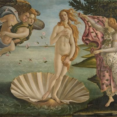 SANDRO BOTTICELLI: BIRTH OF VENUS 6