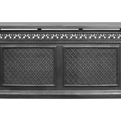 Cast Iron 2 Panel Radiator Cover 4