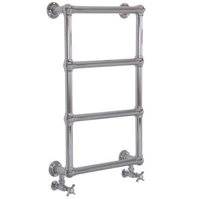 Colossus Steel Wall Mounted Towel Rail Nickel - 1000mm x 600mm 12